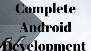 Complete Android Development Course for BtechCSE students